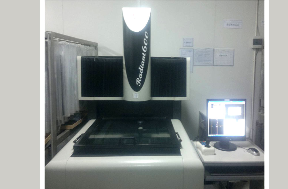 Two-dimensional measurement machine